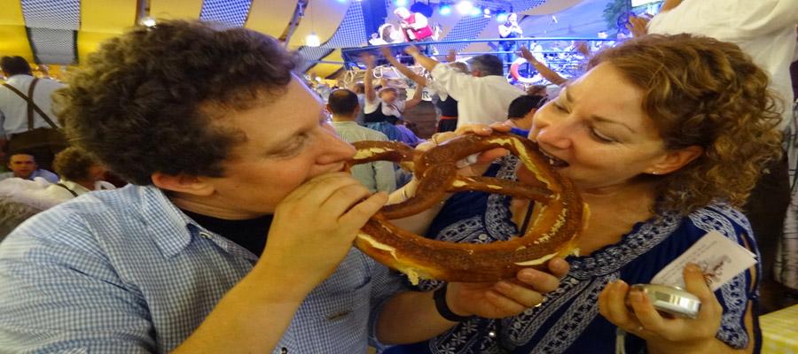 Oktoberfest pretzel love