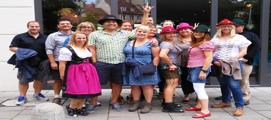Canadian Oktoberfest group