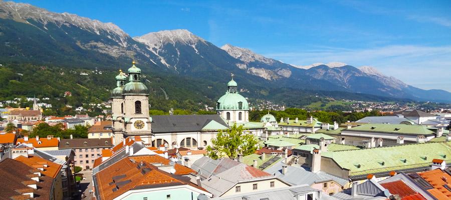 Innsbruck St Jakobs church