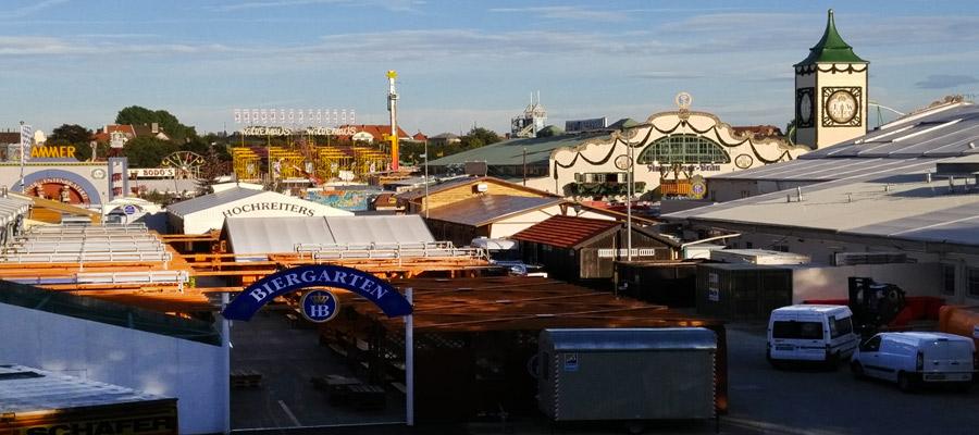 Oktoberfest construction