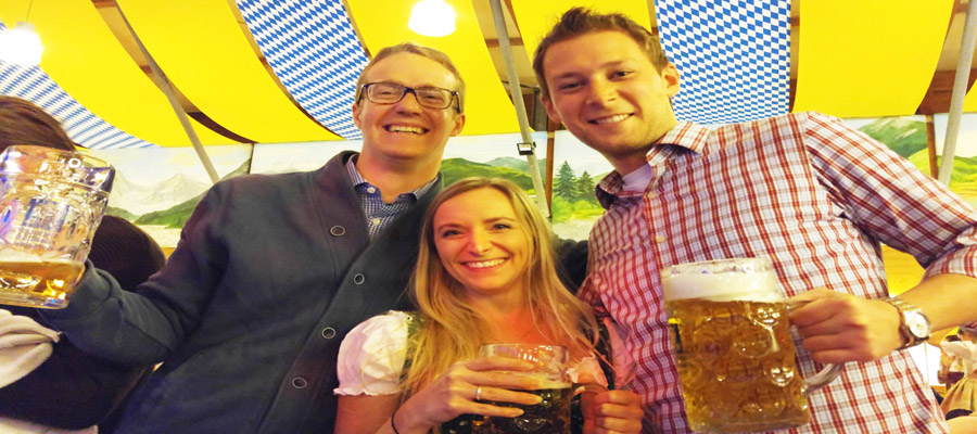 Oktoberfest friends