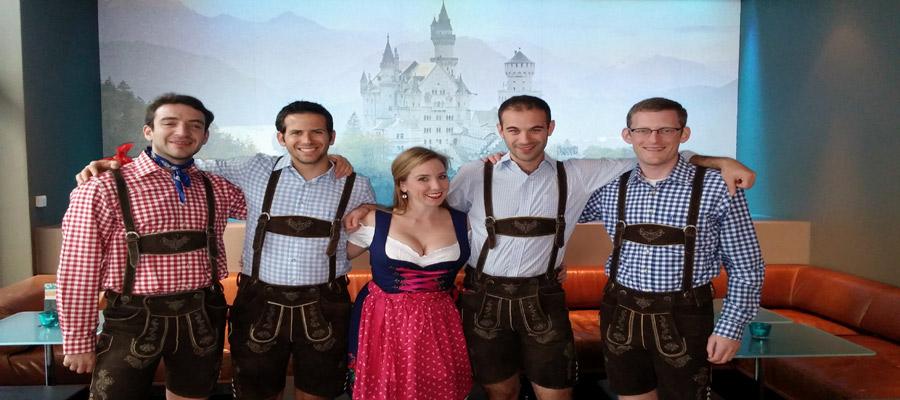 Oktoberfest Ludwigs castle
