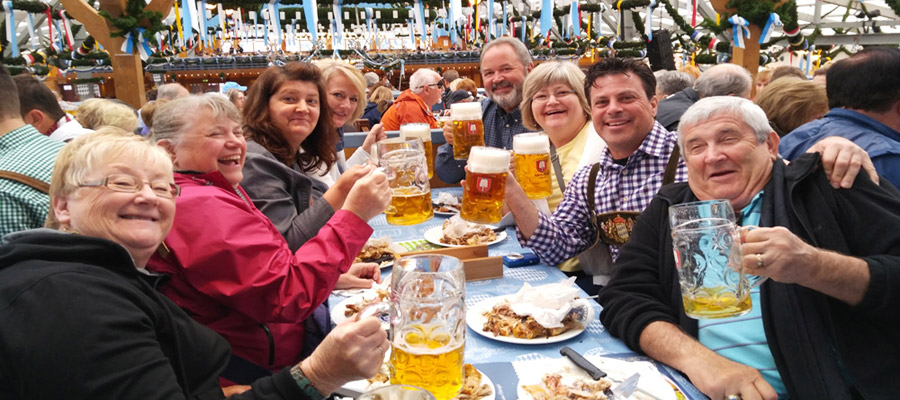 Oktoberfest group from Minnesota