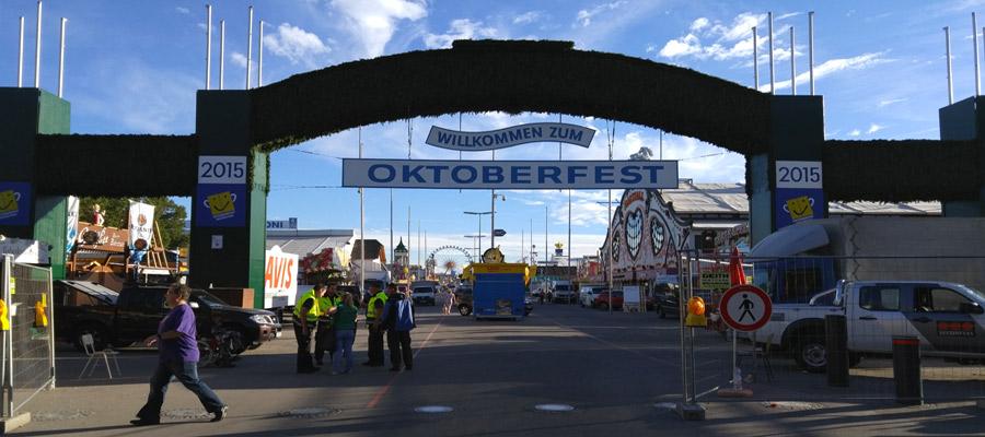Oktoberfest Haupteingang