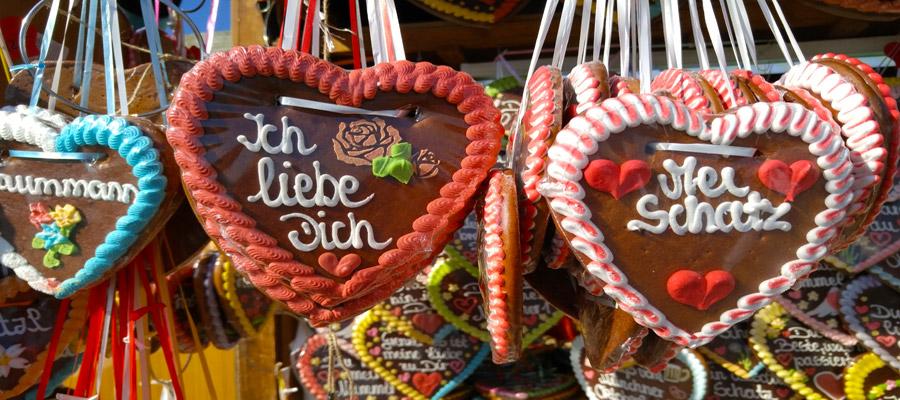 Oktoberfest love hearts