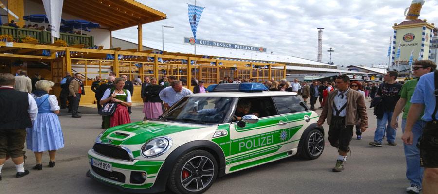 Oktoberfest Polizei
