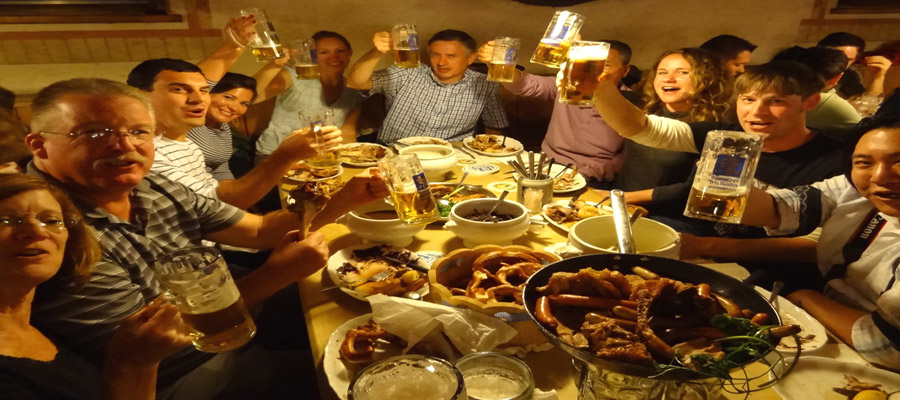 Oktoberfest welcome dinner