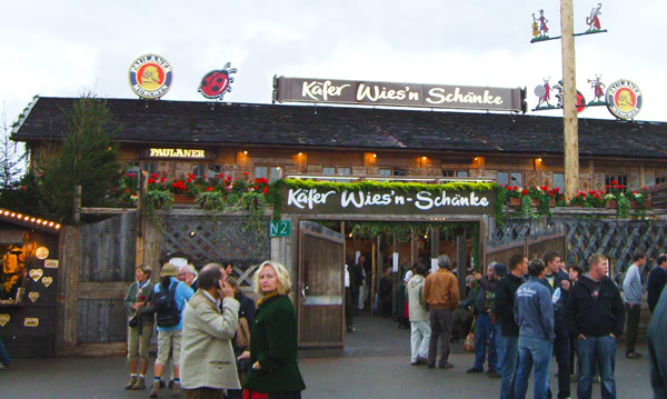 Munich list of Oktoberfest beer tents